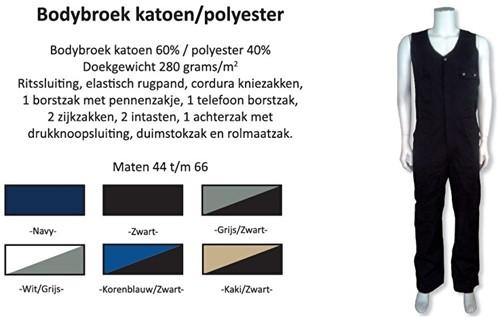 Bodybroek katoen / polyester