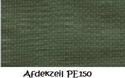 Afdekzeil medium PE 150 - 6 x 8 meter