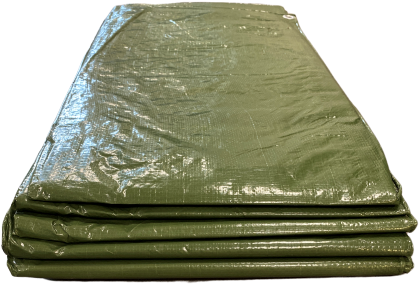Afdekzeil SuperTarp PE 150 - 5 x 8 meter