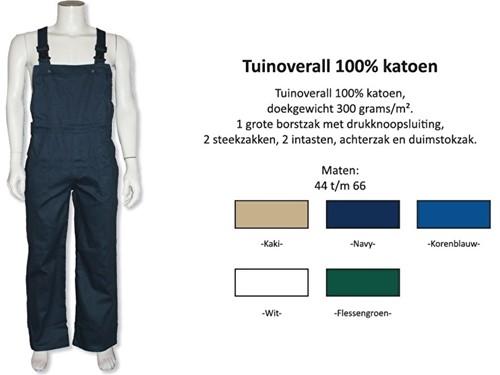 Tuinoverall 100% katoen Verschillende kleuren