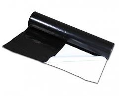 Landbouwplastic - 50 x 10 - Zwart/wit